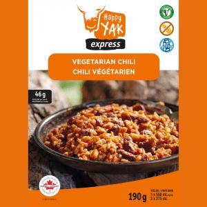 Chili végétarien de Happy Yak