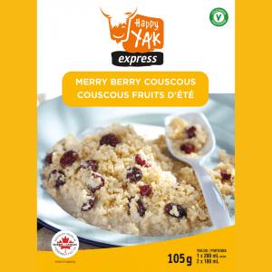 Couscous fruits d'été de Happy Yak