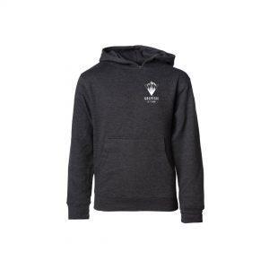 GAPSÉSIE-JE-T'AIME-junior-hoodie-gris-triangle-montagne