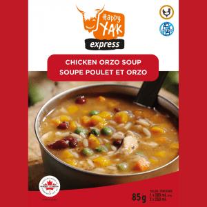 Soupe Poulet et Orzo Happy Yak