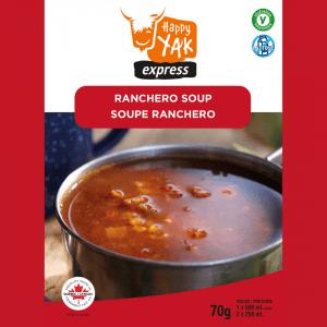 La soupe ranchero de Happy Yak