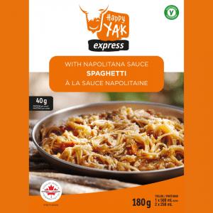 Spaghetti à la sauce Napolitaine de Happy Yak