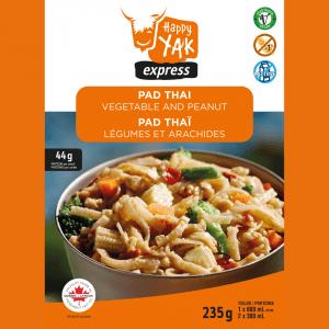 Pad Thaï végétarien de Happy Yak Légumes et Arachides